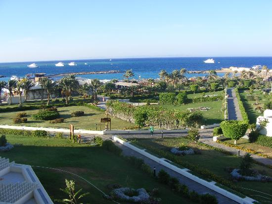 the beach view  Hilton Plaza 5* Єгипет,  Хургада - photo