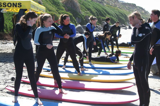 Surfin Fire  Premiere Surf lessons