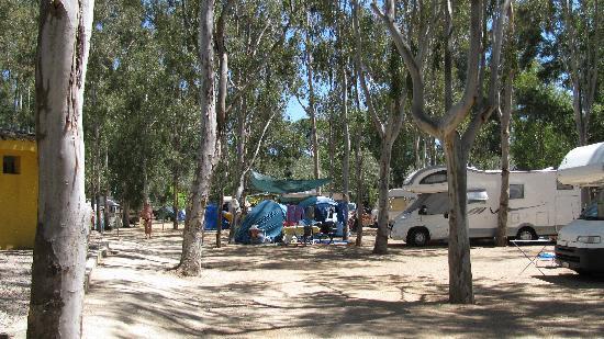Tortoli, Itália: Il campeggio