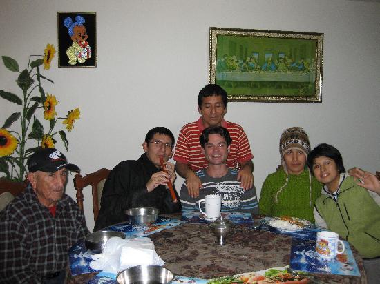 Hostal Las Fresas: Dinner Room-Comedor