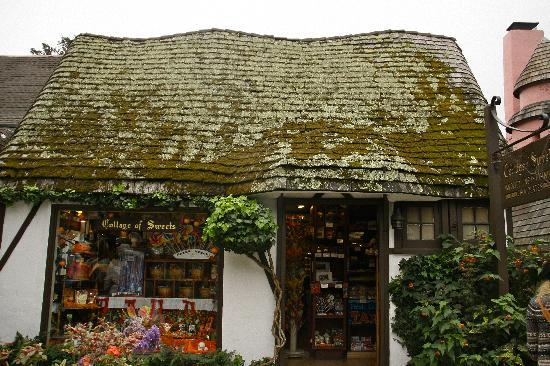 Mendocino, CA: The Sweet Shop...gorgeous building