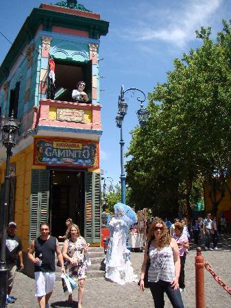 Calle Museo Caminito: Entrada