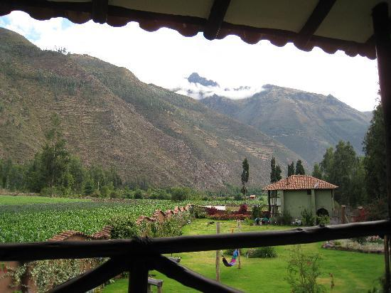 The Green House Peru : the view outside our room