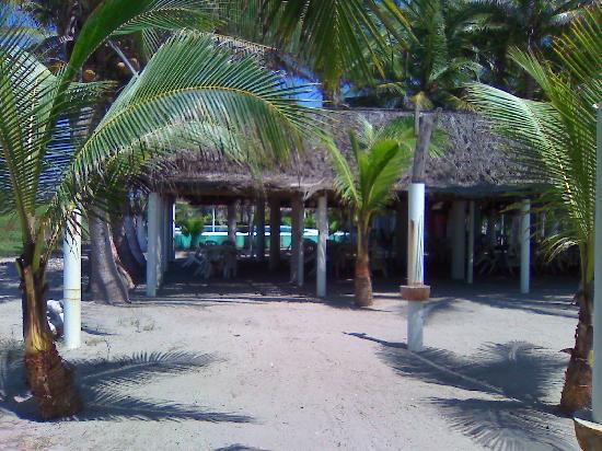 Barra Vieja Beach : vista a la cabana