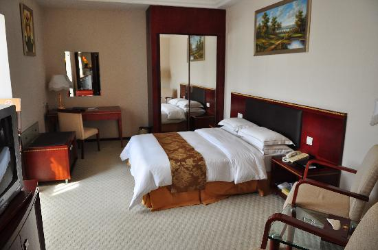 Sandborg Hotel: bed
