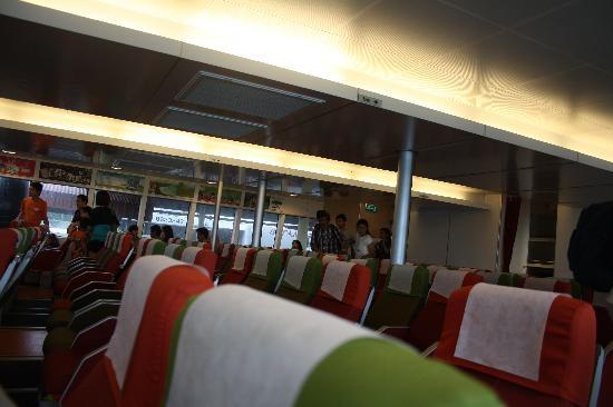 Bintan Island, Indonesia: Inside view of Bintan Ferries