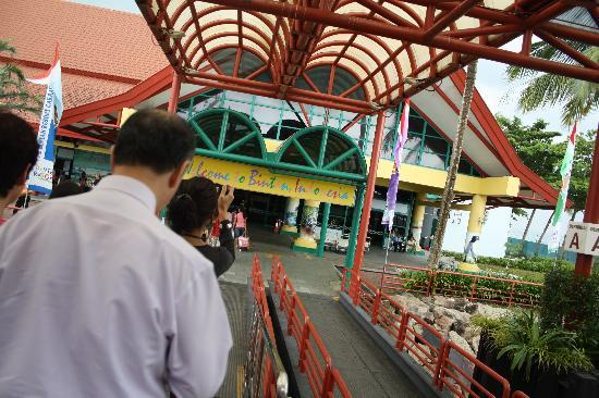 Bintan Island, Indonesia: Entry at the Ferry terminal