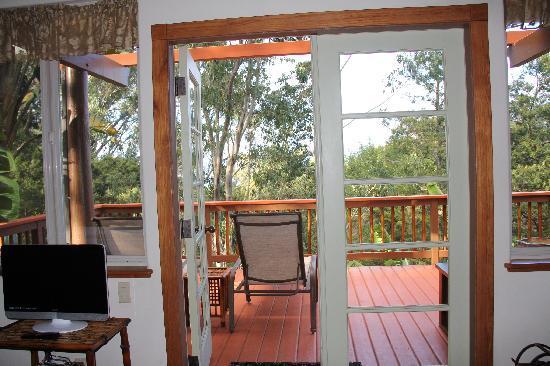 Aloha Cottage: To outside
