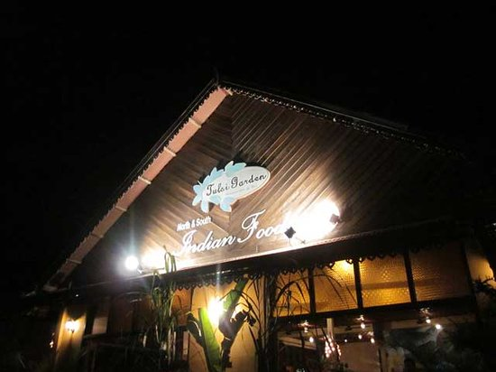 TULSI GARDEN RESTAURANT: Restaurant from outside