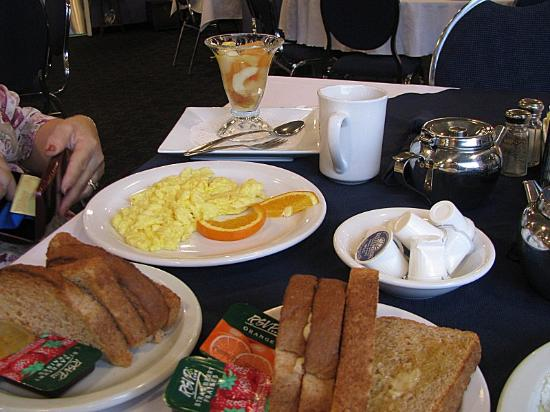 Port aux Basques, Canada: Breakfast at St Christopher's