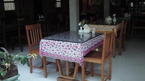 Pak Chiang Mai: お茶やご飯も出来るカフェ。手作りメイン