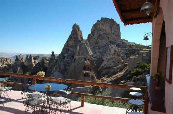 Hermes Cave Hotel: manzara