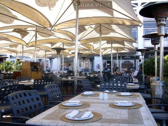 Belthazar Restaurant and Wine Bar: Terasse