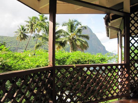 Hummingbird Beach Resort: Blick vom Balkon