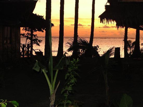 Siargao Inn: Sunset