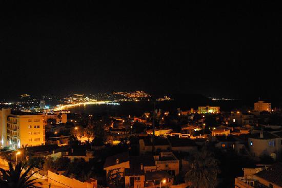Hotel Sun Palace Albir Lounge & Spa: Vistas desde la terraza panorámica