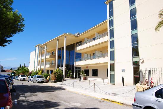 El Albir, Spania: Entrada hotel