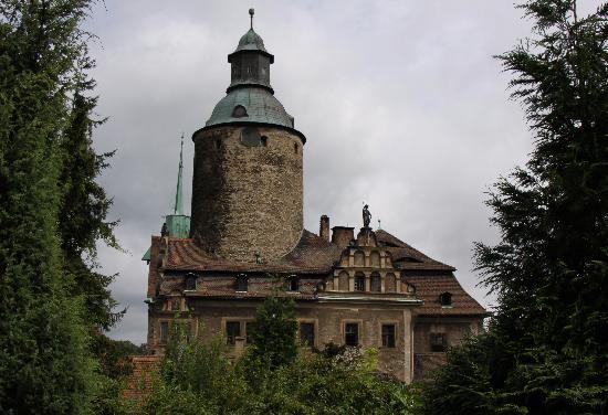 Czoch Castle Hotel : Czocha Castle Side View