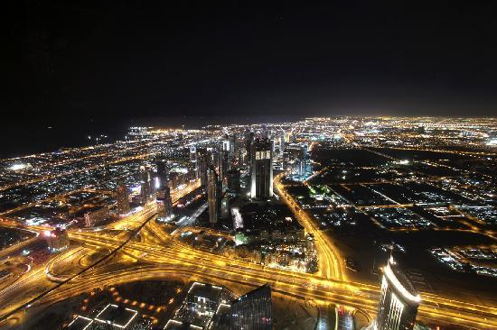 Majestic Hotel Tower: View of Dubai from the Burj Khalifa