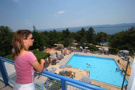 Bluesun Hotel Borak: Hotel view