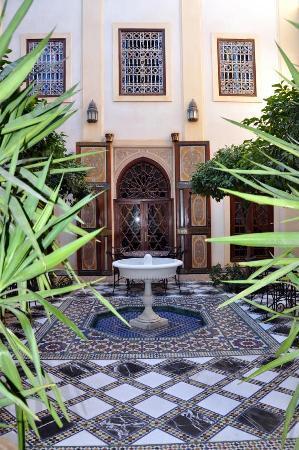 Riyad Al Moussika: Zweiter Innenhof