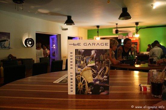 Le Garage - Gourmet Burger: Interessante Ausstattung