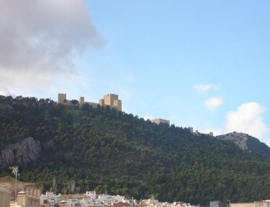 Jaen, Spagna: Castillo de JAÉN
