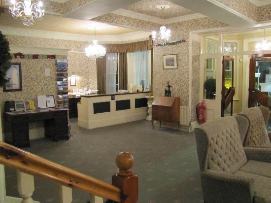 Ilfracombe Carlton Hotel : Reception