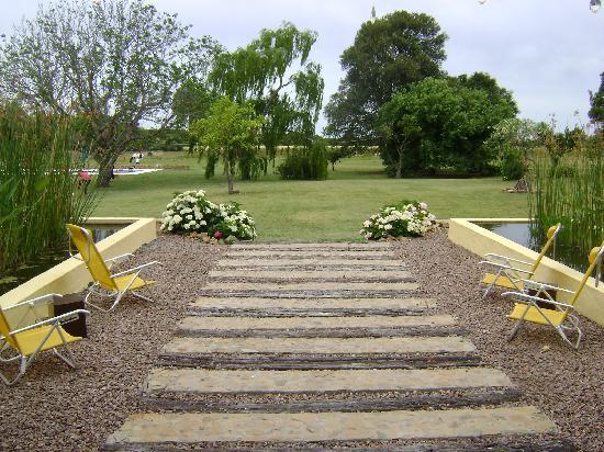 Casa Los Jazmines: garden view