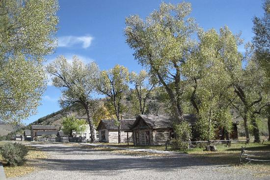 Dillon, MT: Bannack Main Street - looking east