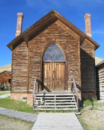 Bannack State Park: Methodist Church