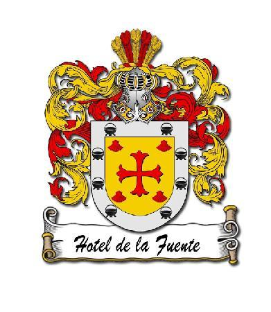 Hotel de la Fuente family crest