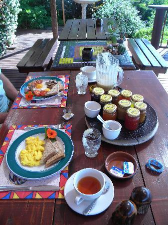 Dungbeetle River Lodge: The breakfast