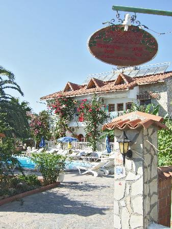 Mehtap Hotel Dalyan: Pool and gardens
