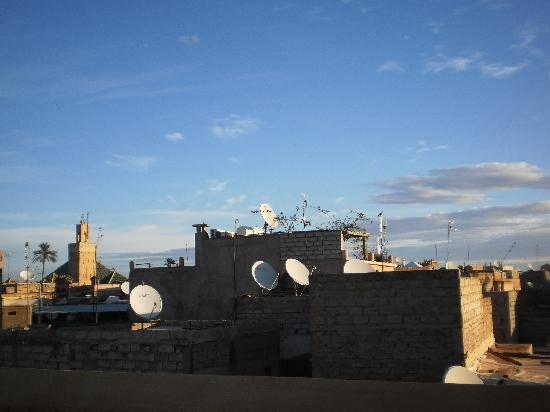 Dar Zitouna : vista dalla terrazza