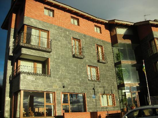 Hotel Conde de Badaran : Vista de la habitación