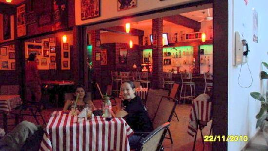 Kabana Bar & Grill: outside seating