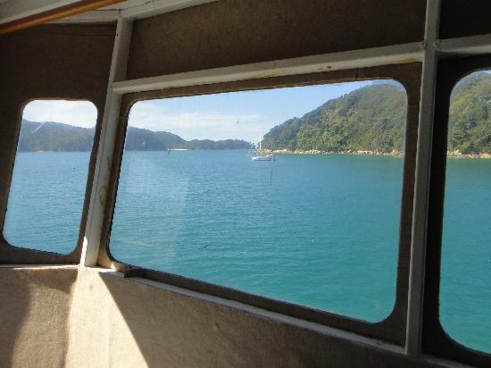 Aquapackers: the view
