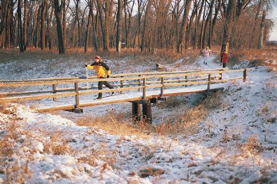 North dakota: Cross Country Skiing