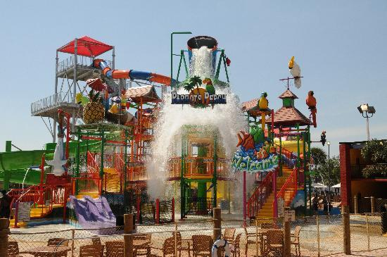 Coco Key Hotel and Water Park Resort: Parrot's Perch Interactive Play Area