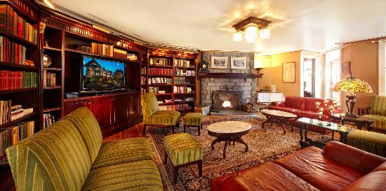 Abigail's Hotel : Library Lounge