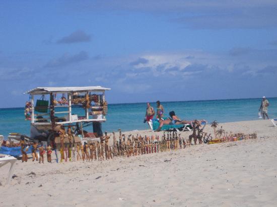 Hotel Palma Real: Beach seller