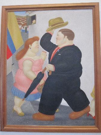 Museo Nacional de Colombia: Botero painting