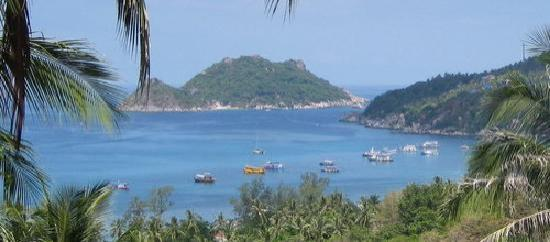 Koh Tao Heights Exclusive Apartments: Koh Tao Heights Balcony View