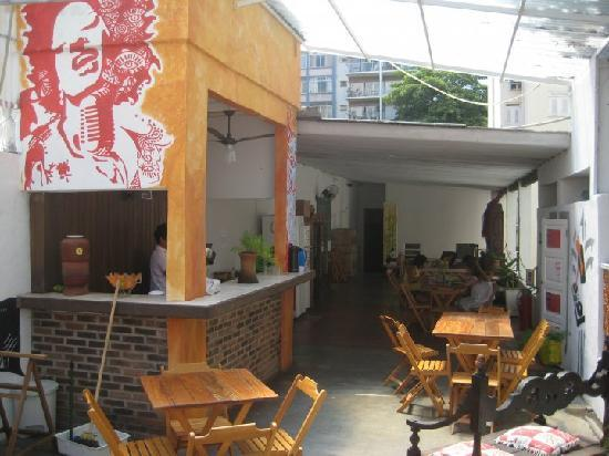 Art Hostel Rio: Terrace