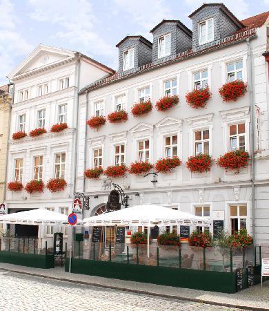 Askania Hotel: Fassade