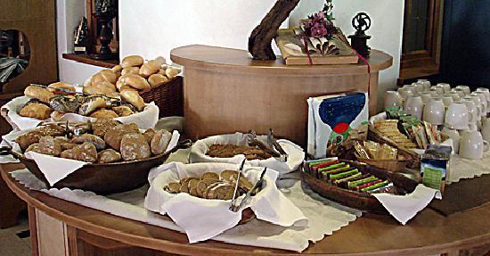 Hotel Vermoi: Frühstücksbufett