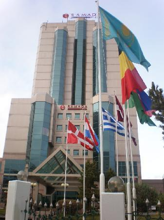 Ramada Plaza Astana: the hotel