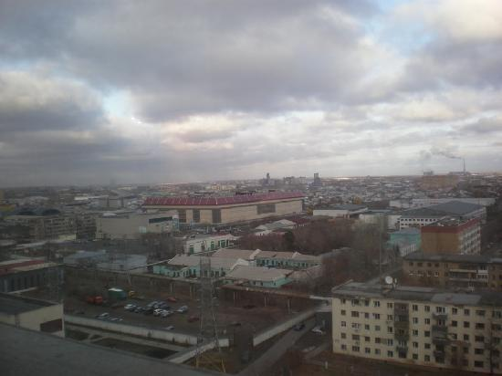 Ramada Plaza Astana: view from the window