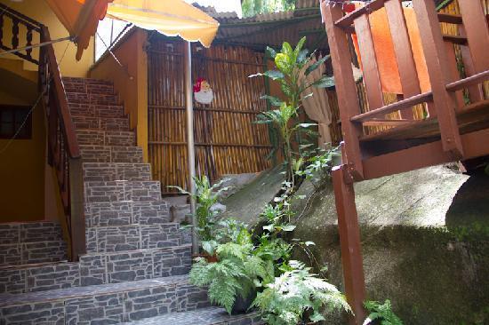 Pousada Mae Natureza: Treppe